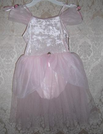 Girls Pink Ballet Costume Size Medium 8-10