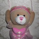 Ballerina Bear Hanging Wall Plaque