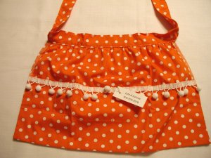 Orange Polka Dot
