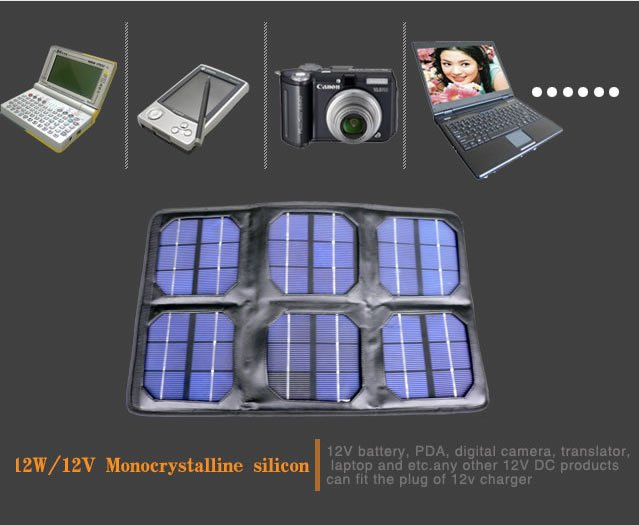 Foldable Solar Laptop Charger