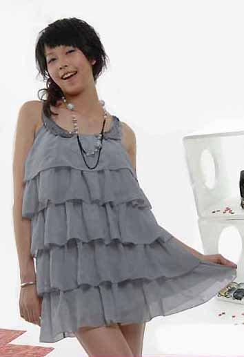 Ruffle Layer Dress