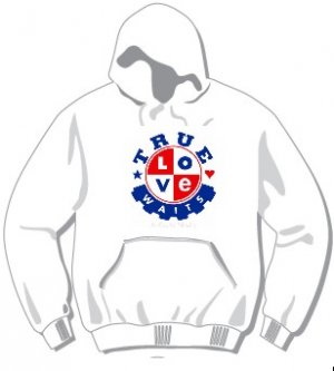True Love Waits Hoodie available in 3 colors