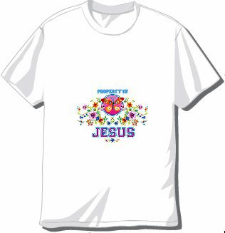 Lady's Property of Jesus T-shirt Available in 3 colors