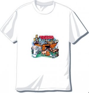 Noah's Ark T-shirt Available in 3 colors