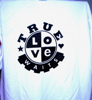 Black & White True Love Waits Shirt