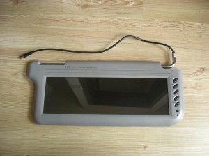 """12.2"""" TFT LCD SCREEN VISOR SUNVISOR MONITOR 4 DVD PAIR"""