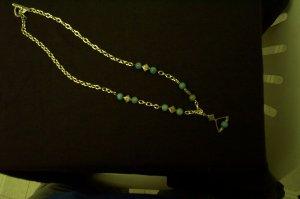 Elven Renaissance Silver Blue Necklace