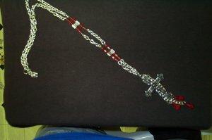 Medieval Renaissance Cross Necklace