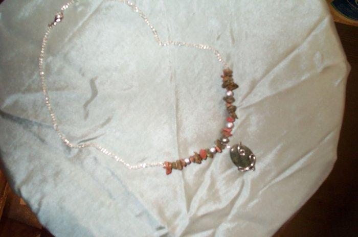 Russian Jade Elven Necklace