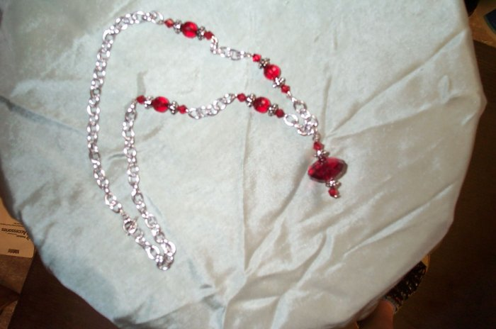 Medieval Renaissance Red Necklace