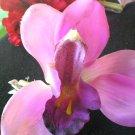 Lilac Latex Orchid Hair Barettte