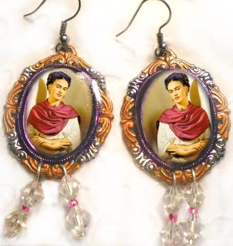 FRIDA SHRINE EARINGS