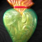 GREEN BEATLE SACRED HEART