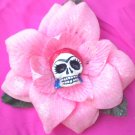 red head frida Pink flower