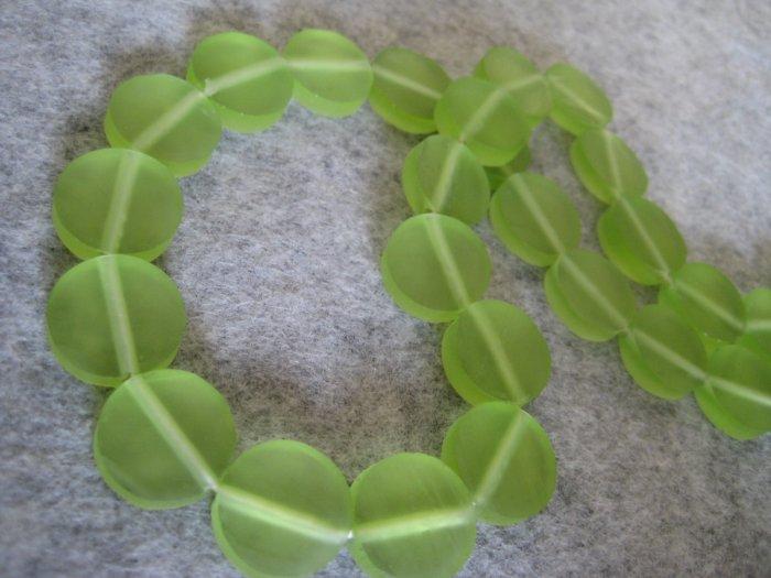 Resin beads, 5mmx15mm, 4pcs