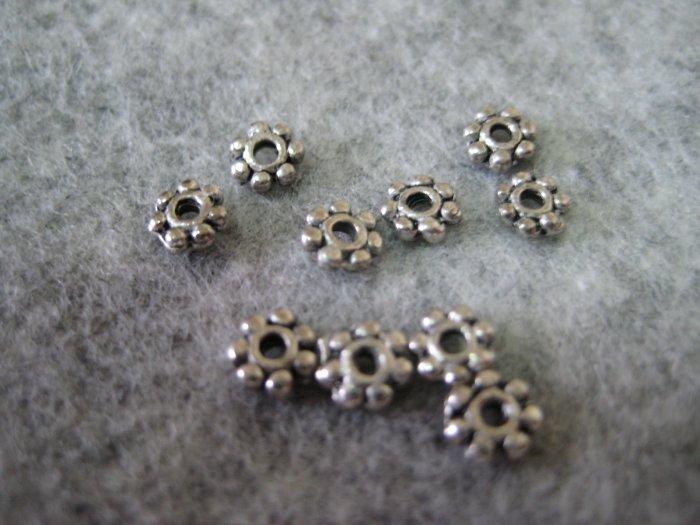 Bali Beads, 4mmx1mm, 10pcs