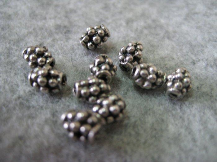 Bali Beads, 4mmx5mm, 10pcs