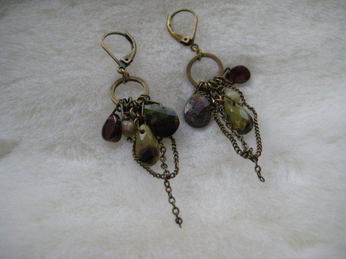 Lime Jasper  ~ Earrings