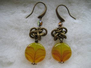 Chinois Knot ~ Earrings