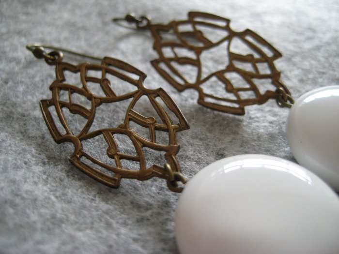 Art Deco Glam ~ Earrings
