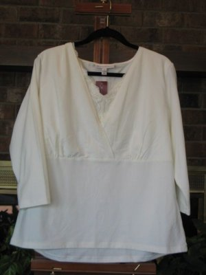 NWT JM Collection Top - 1X