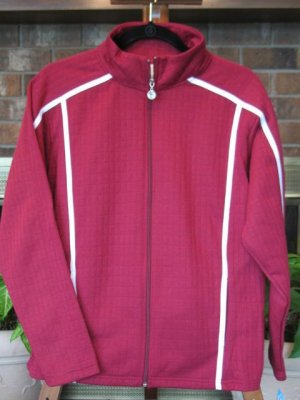 NWT I Active Burgundy Jacket - 1X - Retails $48.00