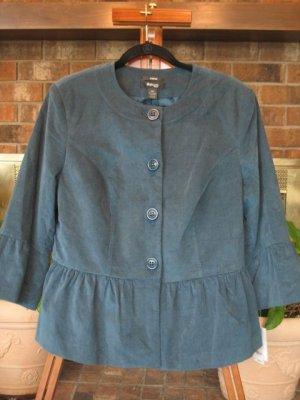 NWT Blue/Green Jacket - Retails $90.00 - Size 14W