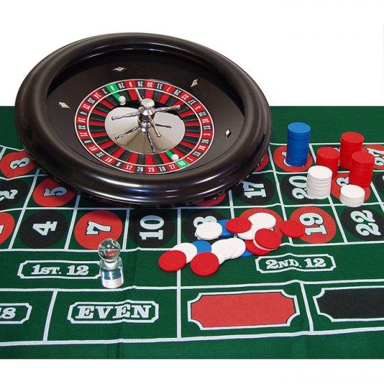 Professionally Balanced Roulette Set Up - 18 Inch Wheel