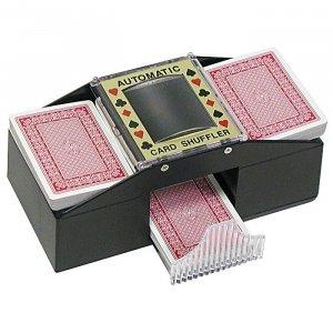 2 Deck Automatic Card Shuffler For Poker, Blackjack, Bridge