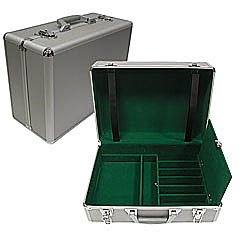 All In One Aluminum Carrying Case - Holds 4 Complete Casino Games