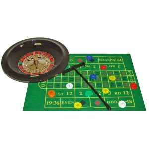 10 Inch Deluxe Roulette Set with Chips