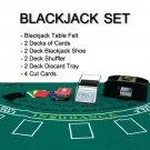 2 Deck Blackjack Accessories Set - Everything Needed to Play Blackjack