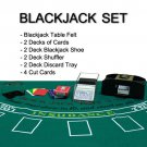 4 Deck Blackjack Accessories Set - Everything Needed to Play Blackjack