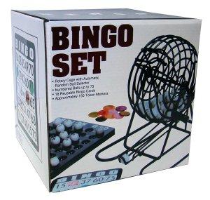 Complete Caged Bingo Game Set