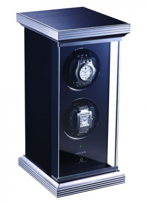 Eilux Double Automatic Watch Winder - Black