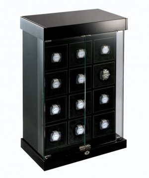 Eilux Twelve Professional Watch Winder - Piano Black