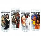Vandor Star Wars 4-Piece 10-Ounce Drinking Glass Set