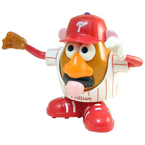 Philidelphia Phillies Mr. Potato Head - Authentic MLB Item - Factory Sealed