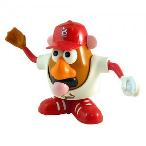 St. Louis Cardinals Mr. Potato Head - Licensed MLB - Factory Sealed