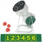 Small Chuck-A-Luck Birdcage Carnival Dice Game