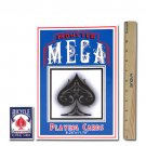 "MONSTER MEGA Super Jumbo Oversize Gimmick Playing Cards 8.25""x11.75"""