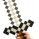 Minecraft Pixel Foam Sword Prop - Survive the Dark!