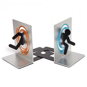 Officially Licensed Portal Bookends - Book holders - Valve - Test Subjects
