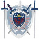 Legend Of Zelda Mini Master Sword Set with Hylian Shield Wall Display