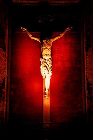 Jesus on the Cross, Rome, Italy