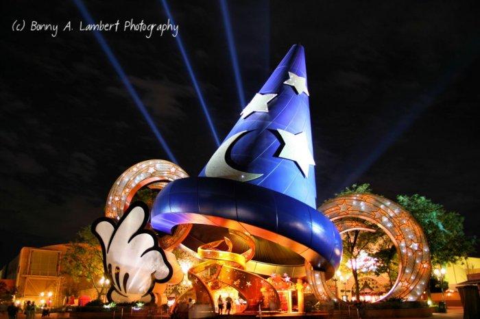 Sorcerer's Hat - Disney Hollywood Studios - Digital Art Print 8 x 10