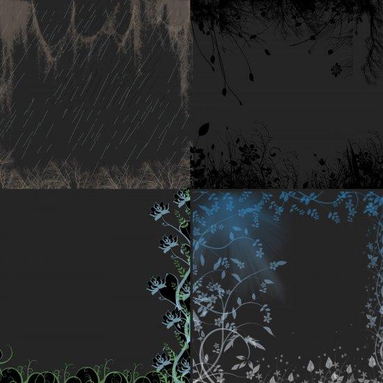 Digital Scrapbooking Nature overlays