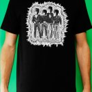 Beatles as Ramones Black T-shirt Punk Rock N Roll indie