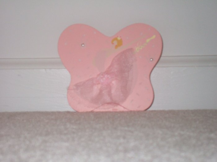 Pink room orniment with a ballarina