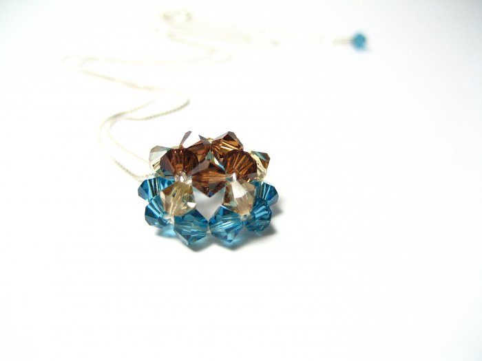Necklace - Carribean Blue